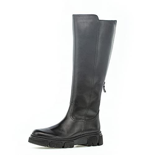 Gabor Damskie buty, klasyczne buty damskie, wyjmowana wkładka, Black Schwarz, 38 EU
