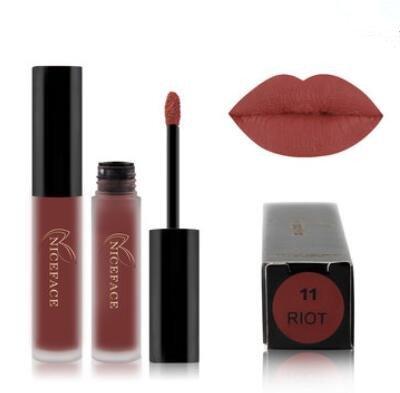 Bluelover Niceface Matte Liquide Rouge À Lèvres Maquillage Lèvres Brillant Long Durable Lips Cosmétiques - 11