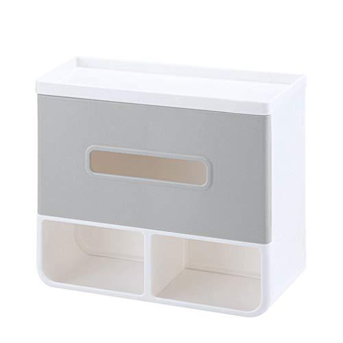 Portarrollos Baño Caja de pañuelos de baño Perforador libre Soporte de papel higiénico impermeable Estante de baño Toallero de papel Portarrollos Papel Higiénico