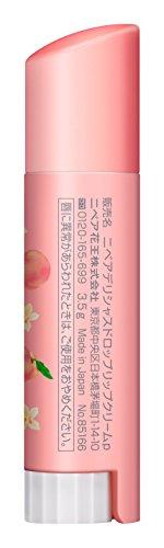 ニベアフレーバーリップデリシャスドロップピーチの香り3.5g