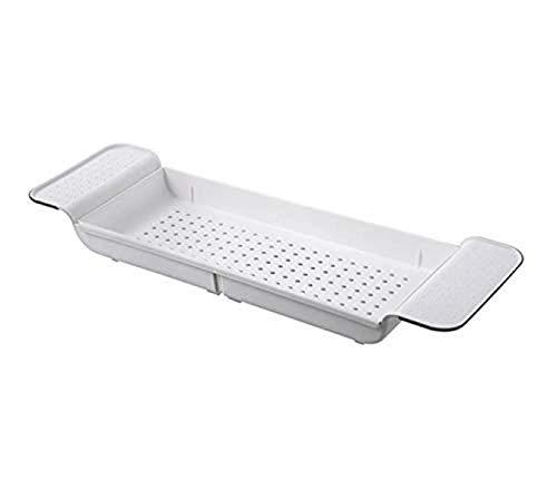 XHLLX Bandeja de baño extensible para bañera, bandeja de baño