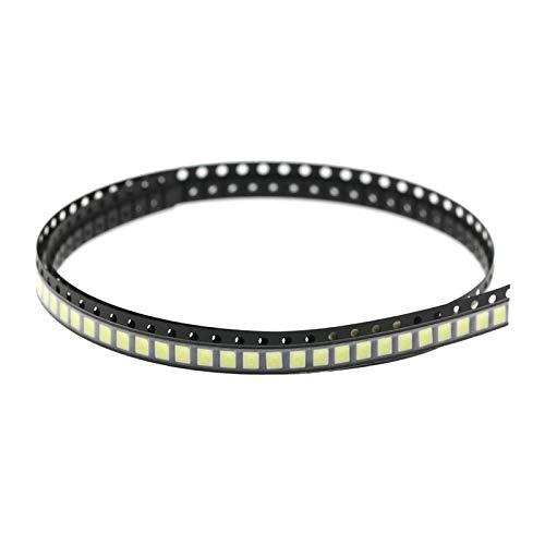 Nobranded 100 Piezas de Luz LED SMD Chip SMD LED Luces de Diodo Kit Surtido 5V 1A 5W