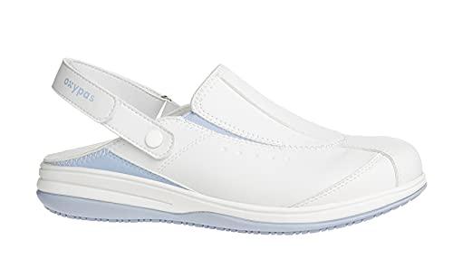 Oxypas Iris, Zapatos de Seguridad Mujer, Blanco (Lbl), 36 EU (3.5 UK)