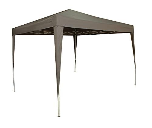 Carpa pergola Plegable 3x3m Ajustable en Altura Multifuncional Playa, Terrazas, Camping Jardin...
