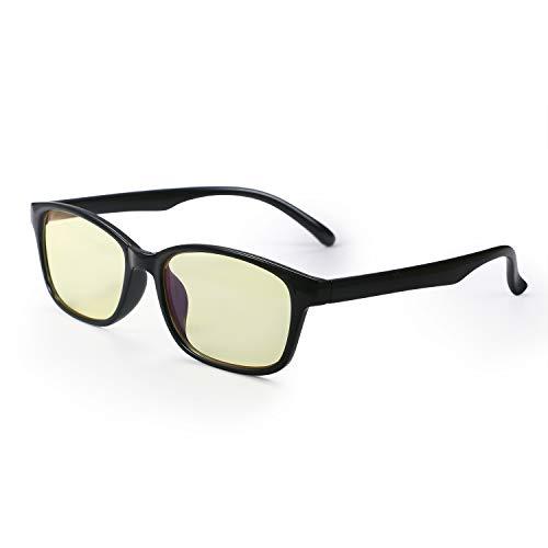 Aroncent UV-Brille 400 Anti-Glare Blau Anti-Ermüdung Anti-Reflexion Herren Augenschutz