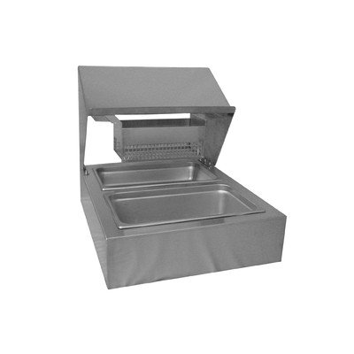 PVIFS BBS-Tabletop Bread and Batter Station Stationary Tabletop, 31' Length x 24-3/4' Width x 25-1/2' Height