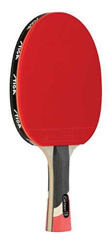 STIGA Pro Carbon PerformanceLevel Table Tennis Racket with Carbon Technology for Tournament Play