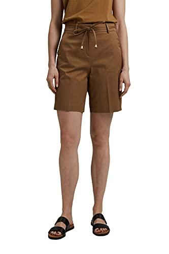 ESPRIT Collection Damen 041EO1C305 Shorts, 255/BARK, 40