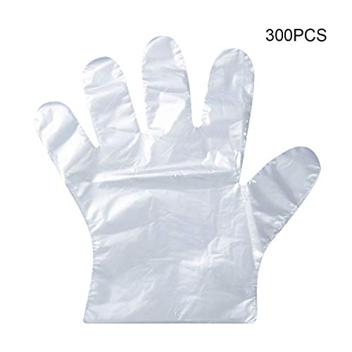 Wegwerp Plastic Handschoenen Restaurant Ziekenhuis Lab Werk Transparante Handschoenen Antislip Waterdicht Oliebestendig