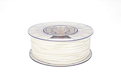 FilamentOne Premium ASA PRO Select Traffic White - 1.75mm (1KG) 3D Printer Filament Manufacturing Precision +/- 0.02 mm