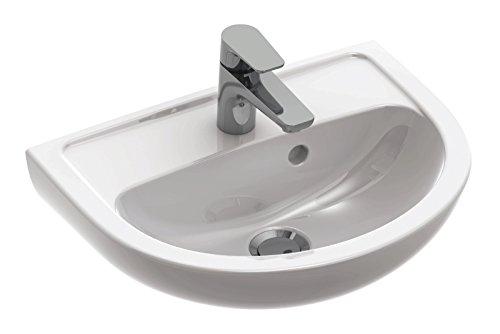 Gustavsberg (Villeroy & Boch) Handwaschbecken Festival, Waschtisch, Waschbecken 45 cm, Weiß, 56138 9