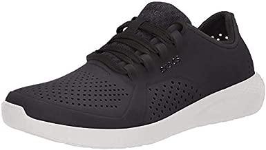 Crocs Women's LiteRide Pacer Sneakers, Black, 8 Women