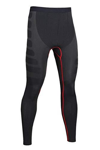 Glield Compression Homme Legging Sport, Collant de Compression Homme SW10 (M, Noir)