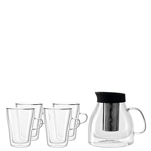 Leonardo Duo 032827 Teapot with Glasses