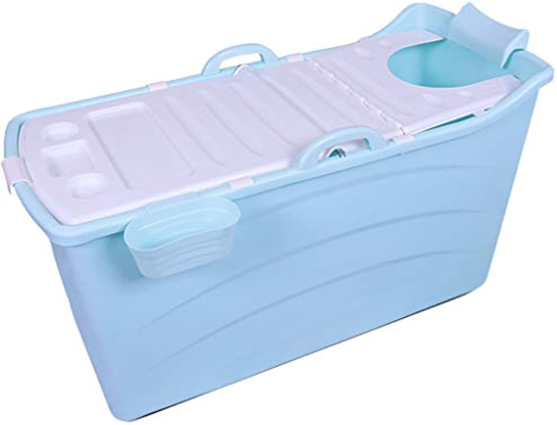 Garnish Erwachsene groe Plastikbadewanne Faltbarer tragbarer Kinderfunktionspool - Nicht aufblasbare Badewanne -by BOBE Shop