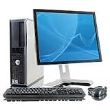 POSTAZIONE INFORMATICA COMPLETA PC COMPUTER USATO+MONITOR RICONDIZIONATO - DUAL CORE 2 GB RAM HDD 160 GB