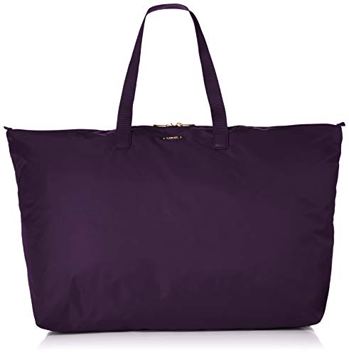 TUMI - Voyageur Just In Case Tote Bag - Lightweight Packable Foldable Travel Bag for Women - Blackberry