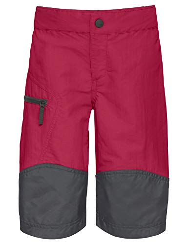 VAUDE Kinder Hose Kids Caprea Shorts, crimson red, 104, 409809771040