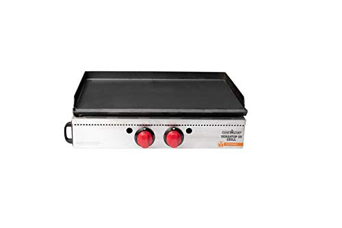 "Camp Chef Versatop Portable Flat Top Grill 400 and Griddle (FTG400) - Compatible 16"" Accessories"