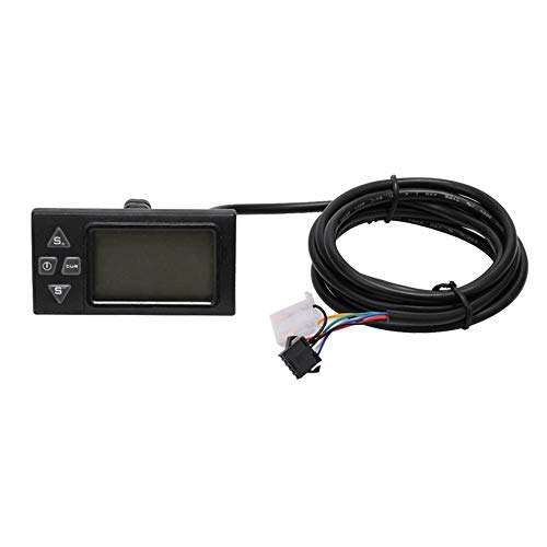 OU BEST CHOOSE Elektro Fahrrad LCD Display + Display Controller + Griffadapter, aus China