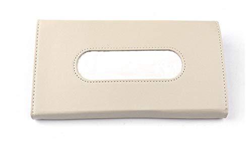 hgkl Caja de pañuelos Coche Sun Sun Papel de Papel Caja de Papel Caja de Cochecito Caja de Coches Caja de pañol Shade Paper Caja de Toalla Auto (Color Name : Beige)