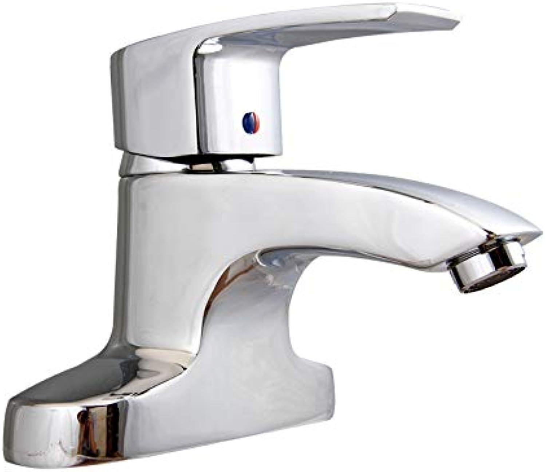CZOOR Bad heien und kalten Waschbecken Wasserhahn Waschbecken Waschbecken Wasserhahn Kupfer Badezimmerschrank Wasserhahn ziehen, TG243