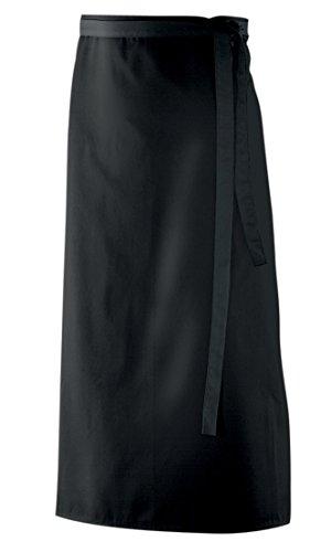 Bistroschürze, Schürze 90x60 cm in schwarz BxL aus 65% Baumwolle, 35% Polyester