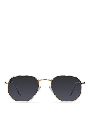 Meller Eyasi Gold Carbon - Gafas de sol polarizadas UV400 Unisexo
