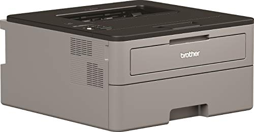 Brother HLL2350DWZX1, Impresora Láser Monocromo Con Wifi Y Dúplex, 356 x 183 x 360 mm, Gris
