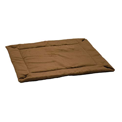 K&H Pet Products Self-Warming Crate Pad Mocha Small 20 X 25 Inches