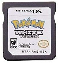 Pokemon White Version Game Cartridge Card For Nintendo DS 3DS NDSI NDS NDSL USA English