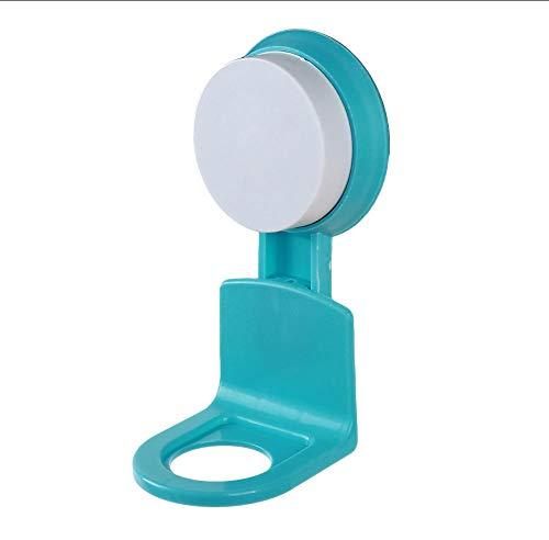 XOOYYY Starke Spurlose Saug Wandhaken Duschgel Shampoo Aufbewahrungshalter Rack Home Küche Badezimmer Aufbewahrungsorganisation 14 * 6,5 Cm-Blau