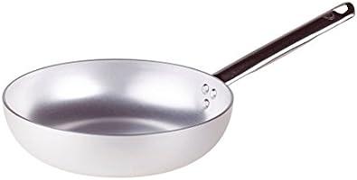 Pentole Agnelli ALMA111B32 Cacerola de Alto Salto, Mango Tubular, Aluminio Profesional, 32 cm