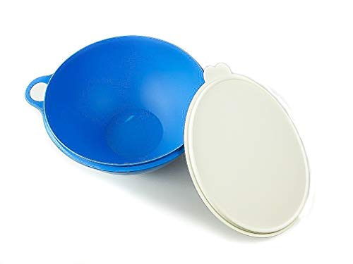 "Tupperware - Ciotola/Insalatiera ""Maximilian"", 7,5 l, colore blu, art. 30927"
