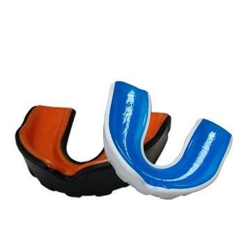 WACOKU Einfacher Zahnschützer Gel Fit Protection mit Box schwarz