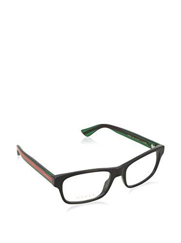 Gucci GG0006O Optical Frame 002 Black Green Transparent 53 mm