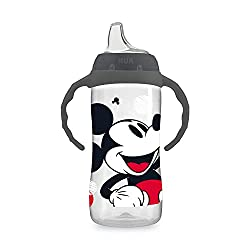 powerful NUK Disney Large Learner Sippy Cup, Mickey Mouse, 10 oz, 1 pack