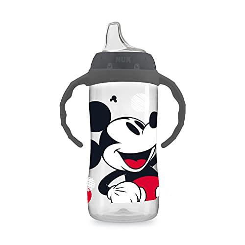NUK Disney Schnabeltasse für Anfänger, groß, Mickey Mouse, 284 ml, 1 Stück