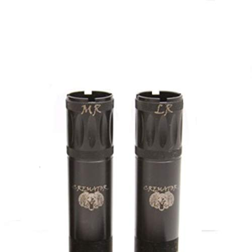 Carlson's Choke Tube Remington Cremator Non-Ported Waterfowl Choke Tube, 12 Gauge, MR & LR, Black