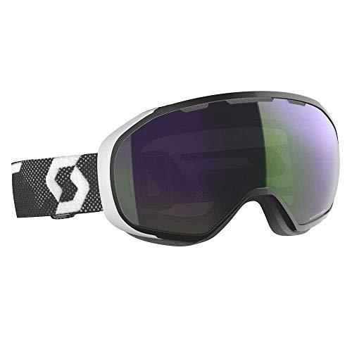 Scott FIX Masque de ski Vert/noir Taille unique – Couleur : noir – Blanc – Enhancer Green Chrome