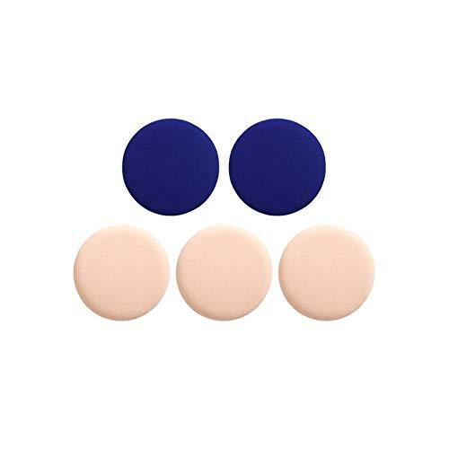 Drametree Paquet de 5 Coussins d'air Puff BB Cream Sponge Foundation Moelleux Puff Poudre sèche et mouillée Puff Maquillage Puff Maquillage Couleur Maquillage Œuf en éponge Œuf