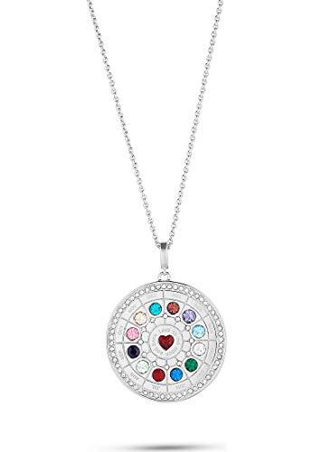 JETTE Silver Damen-Kette 925er Silber 85 Zirkonia One Size 88025199