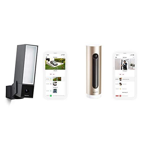 Kit Netatmo, 1X Welcome Cámara de seguridad del hogar inteligente + 1X Presence Cámara de seguridad exterior inteligente