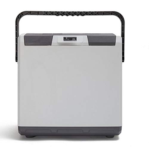 Hi-Gear 28-Litre 12V 240V Cooler, Grey, One Size