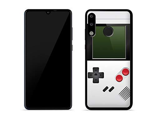 etuo Handyhülle für Huawei P30 Lite - Hülle Fantastic Hülle - Weißes Game Boy - Hülle Schutzhülle Etui Hülle Cover Tasche für Handy