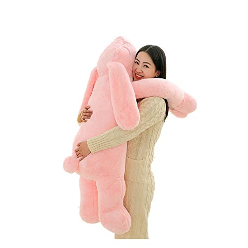WWWL Almohada de Abrazo, Exportar Corea Gigante Conejito de Peluche Juguete Suave Dibujos Animados Gran Oreja Conejo Peluche Abrazo Juguete Conejo Relleno Almohada niña Regalo