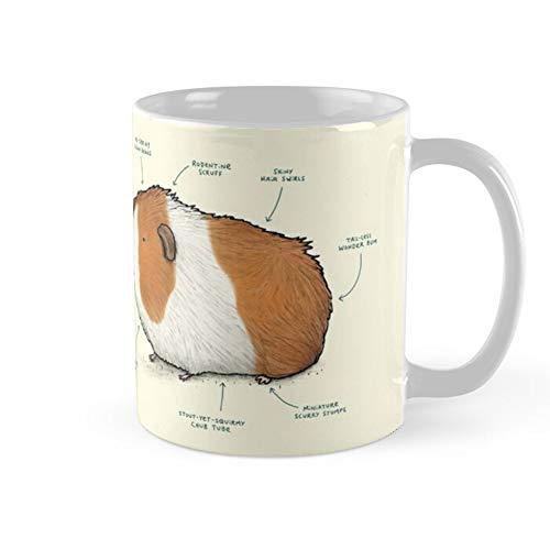 Anatomy Of A Guinea Pig Coffee Mug 11oz & 15oz Ceramic Tea Cups