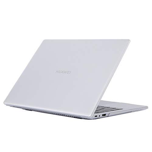 Funda Protectora para Ordenador portátil Huawei MateBook de 14 Pulgadas a Prueba de Golpes con Cristal (Color Transparente)