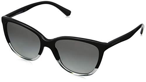 Emporio Armani 0EA4110 Gafas de sol, Grey/Green/Trasp Aqua, 55 para Mujer