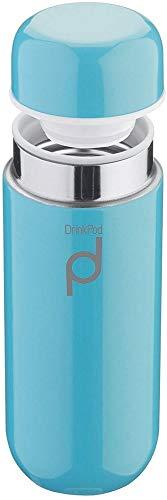 Pioneer Flasks Thermos DrinkPod in Acciaio Inox 18/10, Blu, 0.2 L